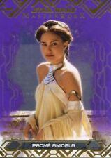 Star Wars Masterwork 2017 Purple Base Card #2 Padme Amidala