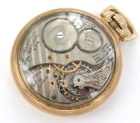 .1952 HAMILTON SKELETON BACK 992B 16S 21J 6 ADJ MONTGOMERY DIAL RRG POCKET WATCH