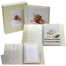 My Baby's Unisex Deluxe Journal  - Perfect New Baby Gift & Keepsake!