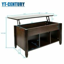 Lift-top Coffee Table  Modern Furniture Hidden Compartment and Lift Tabletop