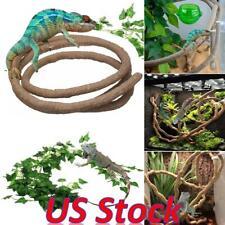 Us 1.5/2.5/3m Reptiles Flexible Vines Wire Habitat Decor Bendable Jungle Climber