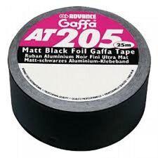 Advance AT205 Black Tack schwarzes Aluminiumklebeband
