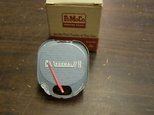 NOS 1960 Ford Fairlane Galaxie 500 Dash Temperature Gauge Indicator