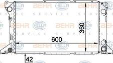 Ford Transit Radiator Manual 1994-2000 Genuine BEHR 8MK376720221