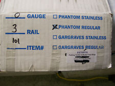 Gar Graves Phantom Tinplate # 101 ( 50 Pack ) 37 inch Flexable Straight Track