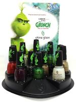 China Glaze Nail Lacquer THE GRINCH Collection Ready To Wear - Choose Any Color