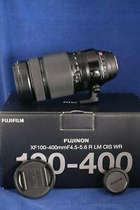 Fuji XF 100-400mm f4.5-5.6 R LM OIS WR Telephoto Zoom Lens