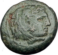 ALEXANDER III the GREAT 336BC Macedonia Ancient Greek Coin HERCULES CLUB i64937