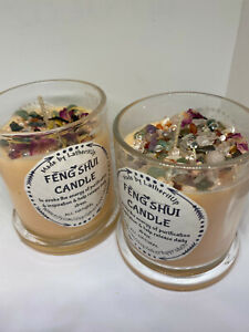 Feng Shui Candle/Fire Element Candle/Soy Wax Candle/Aromatherapy