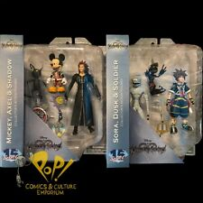 KINGDOM HEARTS Select MICKEY MOUSE & SORA Action Figure Set Diamond Select Toys!