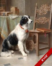 English Springer Spaniel Family Dog Canine Painting Pet Art Real Canvas Print