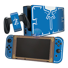 Zelda Breath of the Wild Champion Tunic Sheikah Slate Theme Nintendo Switch Skin
