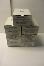 """NEW Lot of 7 M&S Systems NME5 Recessed Metal Enclosure for 5"""" OD Plastic Speaker"""
