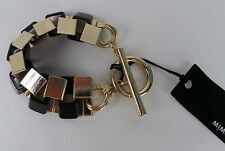 MIMCO Jewellery- Arithemeticulous Wrist/ Bracelet/ Bangle BNWT rrp$129- Jet Gold
