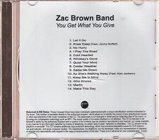 zac brown band limited edition cd