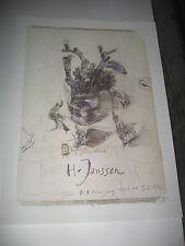 HORST JANSSEN - Galleri 1+1 Helsingborg  5.5.1976 - 40x54cm - HANDSIGNIERT