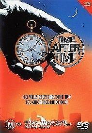 Time After Time (DVD, 2003) 1979 Film, David Warner, Malcolm McDowell, R4
