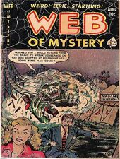 WEB OF MYSTERY COMICS GOLDEN AGE COLLECTION PDF ON CD