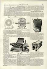 1890 nuovo composto TURBINA A VAPORE IN ACCIAIO PALA opere Chisholm
