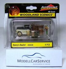 "Woodland Scenics 1/87: AS5538 ""Henry fährt zum Markt"" / ""Henry´s Haulin´"""