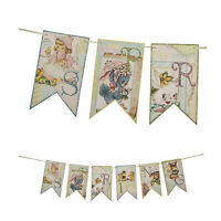 Bethany Lowe Spring Time Easter Egg Hunt Retro Style Garland Home Decor Banner