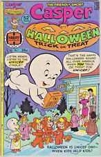 CASPER HALLOWEEN TRICK OR TREAT#1 FN 1976 HARVEY BRONZE AGE COMICS
