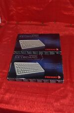 lot of 2 new Cherry brand computer keyboards G84-4100 compact grey usb ps2