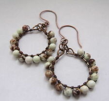 Natural Hoop Costume Earrings