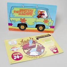 Set of 2 Scooby Doo Placemats - the Mystery Machine & Scooby Snack Diner