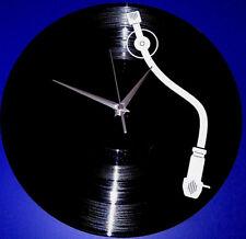 Vinyl Schallplatten-Uhr,Wanduhr,Deko,Retro, Vintage,Geschenk,DJ, Record-Player