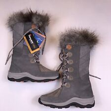 Clarks Womens Size 6 Wintry Hi Waterproof Cold-Weather Suede Boots