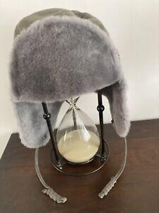 UGG Grey Trapper/aviator Hat Bnwot