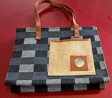 Clearance 2 Pk Womens Jute Handbag Purse 14x11x3.5  Simple yet stylish JB111