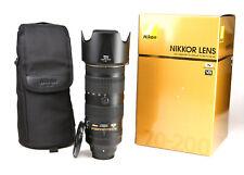 Nikon AF-S NIKKOR FL ED VR 70-200mm F2.8E AF Lens with Upgraded Kirk Tripod Foot