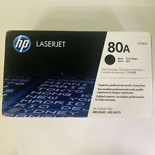 GENUINE HP CF280A 80A BLACK Toner Cartridge NEW SEALED SEE PHOTOS FREE SHIPPING