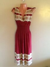 Women's Plus Size Surplice  Sleeveless Floral Print Dress 1X  2X 3X