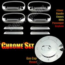 For Ford F150 97-2003 EXPEDITION 1997-2002 Chrome Covers Set 4 Doors WITH PK+Gas