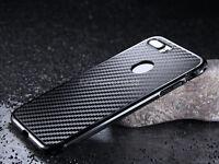 Luxury Carbon Fibre Thin Metal Bumper Hard Case Cover For iPhone 6/s 7 Plus S001