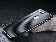Luxury Carbon Fibre Thin Metal Bumper Hard Case Cover For iPhone 6/s 7 Plus S001
