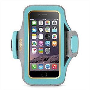 Belkin Slim Fit Plus Armband Turquoise Neoprene F8W634-C02 iPhone 6 6s Apple NEW