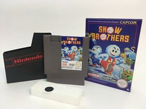 Nintendo Snow Brothers NES game UK PAL Region A