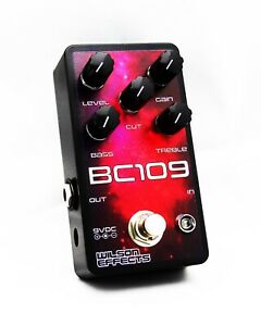Wilson Effects BC109 (Vintage Colorsound Overdriver)