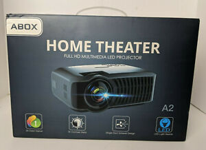 Abox A2 Home Theater HD Multimedia LED Projector