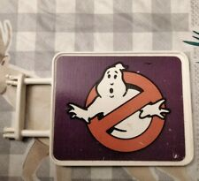 Real Ghostbusters Sign For Firehouse. All Original. 1986