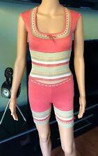Azzedine Alaia 1990's Vintage Romper Jumpsuit Playsuit  XS