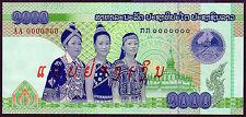 "Lao/Laos ""Recalled Note"" (2008) QUITE SCARCE 1000-Kip {SPECIMEN} UNC Note: P39s"