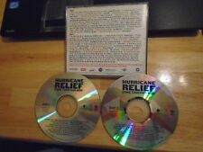 RARE PROMO Hurricane Relief 2x CD Scott Weiland OZZY Coldplay STING Kanye West +