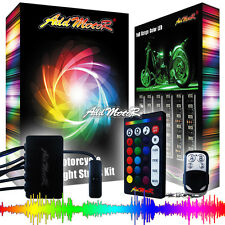 Addmotor 18X Strips 300LED Multi-color RGB 18 Color Touring Motorcycle Light Kit