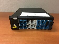 TELECT ELF-PC12-SC00 ELF MOD, FIBER COMBO, 12 PORT, SC/UPC FIBER PATCH