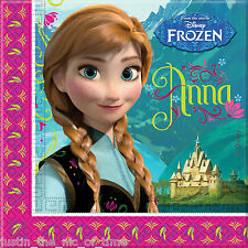 Disney Frozen Paper Party Napkins -pack of 20 - 2ply